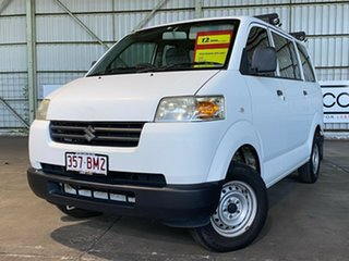 2012 Suzuki APV White 5 Speed Manual Van.