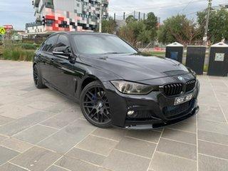 2013 BMW 3 Series F30 MY0813 328i M Sport Black 8 Speed Sports Automatic Sedan.