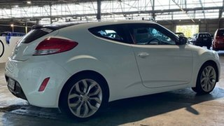 2012 Hyundai Veloster FS + Coupe D-CT White 6 Speed Sports Automatic Dual Clutch Hatchback
