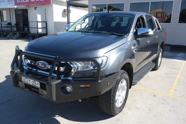 Used Ford Ranger PX MkII XLT Double Cab Maryville, 2016 Ford Ranger PX MkII XLT Double Cab Grey 6 Speed Sports Automatic Utility