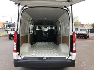 2020 Toyota HiAce GDH320R High Roof Super LWB French Vanilla 6 Speed Sports Automatic Van