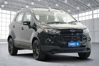 2016 Ford Ecosport BK Titanium PwrShift Black 6 Speed Sports Automatic Dual Clutch Wagon.