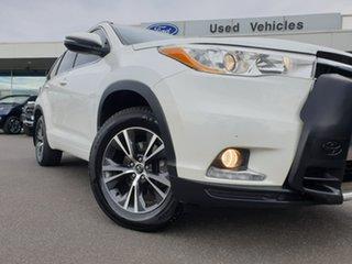 2016 Toyota Kluger GSU55R GXL AWD White 6 Speed Sports Automatic Wagon.