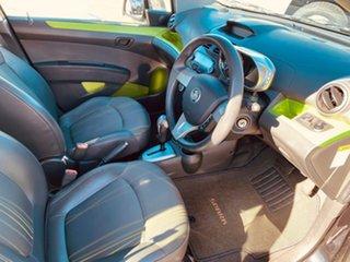 2013 Holden Barina Spark MJ MY14 CD Black 4 Speed Automatic Hatchback.