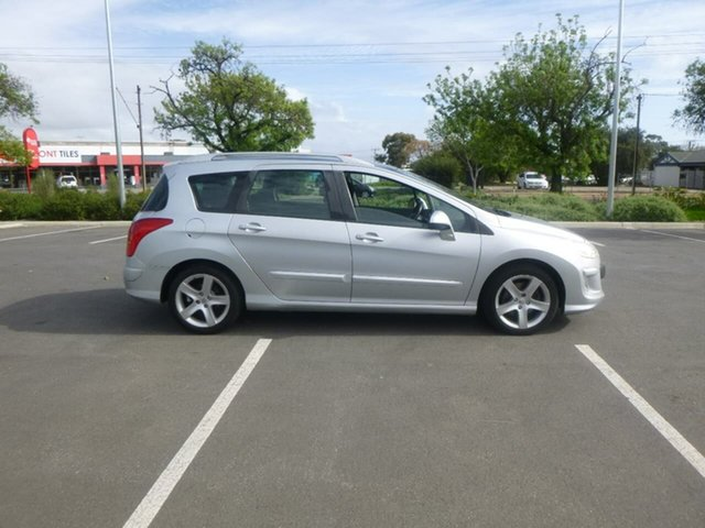 Used Peugeot 308 T7 XSE Turbo Beverley, 2009 Peugeot 308 T7 XSE Turbo Silver Sports Automatic Wagon