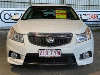 2011 Holden Cruze JH Series II MY12 SRi-V White 6 Speed Sports Automatic Sedan
