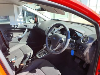 2014 Ford Fiesta WZ Trend PwrShift Red 6 Speed Sports Automatic Dual Clutch Hatchback