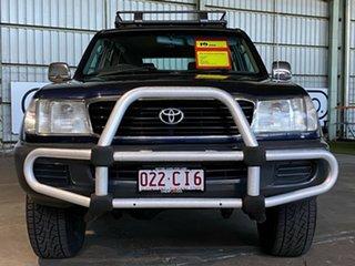 1998 Toyota Landcruiser FZJ105R GXL Blue 4 Speed Automatic Wagon