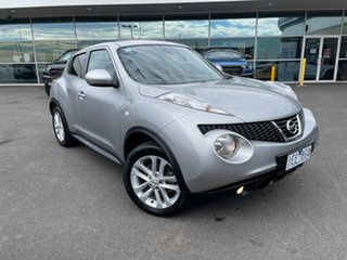 2014 Nissan Juke F15 MY14 Ti-S AWD Silver 1 Speed Constant Variable Hatchback.