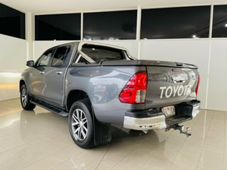 2015 Toyota Hilux GUN126R SR5 Double Cab Grey 6 Speed Sports Automatic Utility.