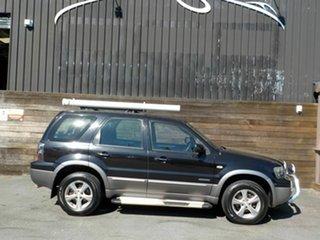 2007 Ford Escape ZC XLS Black 4 Speed Automatic SUV.