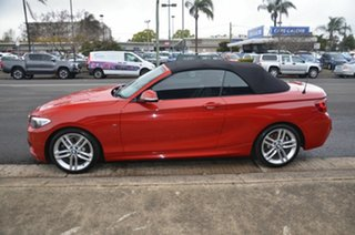 2015 BMW 220i F22 M Sport Red 8 Speed Automatic Convertible