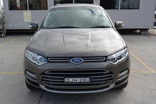 2012 Ford Territory SZ Titanium Seq Sport Shift Brown 6 Speed Sports Automatic Wagon.