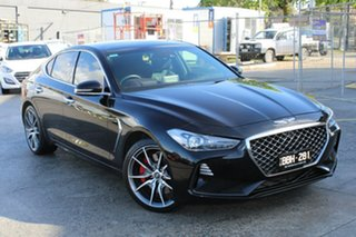 2018 Genesis G70 IK MY19 Ultimate Black 8 Speed Sports Automatic Sedan.