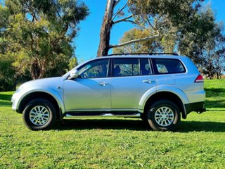 2014 Mitsubishi Challenger PC (KH) MY14 Cool Silver 5 Speed Sports Automatic Wagon