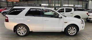 2010 Ford Territory SY MkII Ghia AWD White 6 Speed Sports Automatic Wagon.