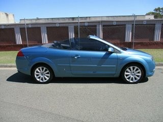 2007 Ford Focus LT Coupe Cabriolet Blue 4 Speed Sports Automatic Convertible.