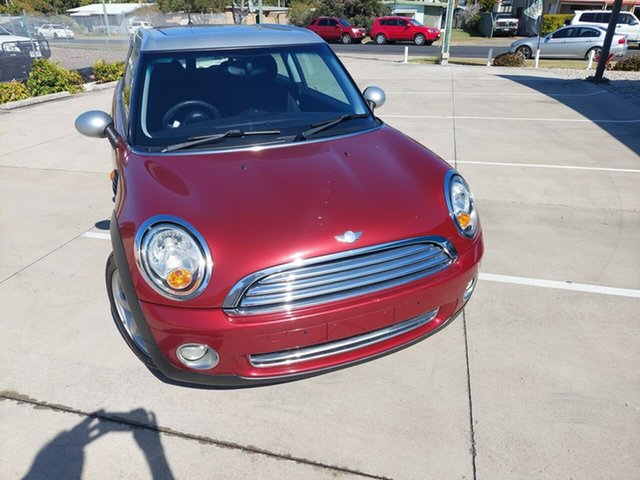 Used Mini Clubman R55 Cooper Gympie, 2007 Mini Clubman R55 Cooper Nightfire Red 6 Speed Sports Automatic Wagon