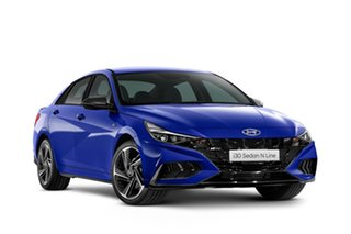 2021 Hyundai i30 CN7.V1 MY21 N Line D-CT Intense Blue 7 Speed Automatic Sedan