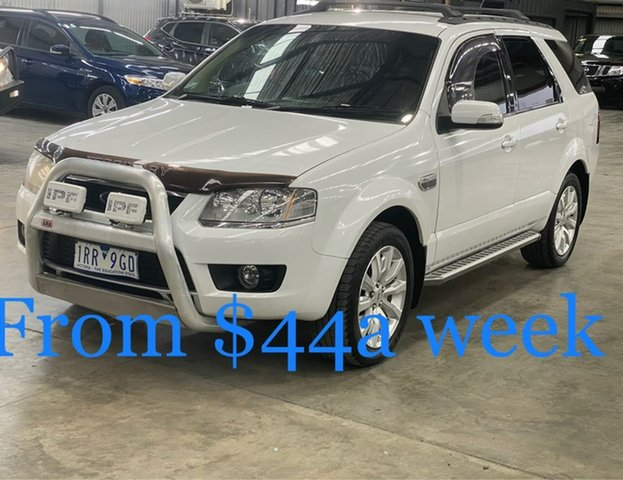 Used Ford Territory SY MkII Ghia AWD South Melbourne, 2010 Ford Territory SY MkII Ghia AWD White 6 Speed Sports Automatic Wagon