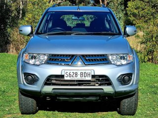 2014 Mitsubishi Challenger PC (KH) MY14 Cool Silver 5 Speed Sports Automatic Wagon.