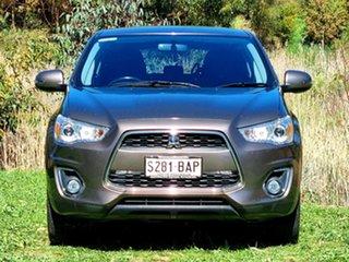 2014 Mitsubishi ASX XB MY14 2WD Ironbark 6 Speed Constant Variable Wagon.
