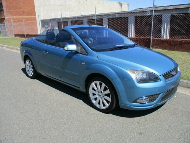 Used Ford Focus LT Coupe Cabriolet Kippa-Ring, 2007 Ford Focus LT Coupe Cabriolet Blue 4 Speed Sports Automatic Convertible