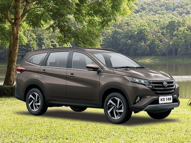 Demo Toyota Rush , Toyota Rush Bronze Metallic Automatic