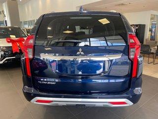 2020 Mitsubishi Pajero Sport QF MY20 GLS Blue 8 Speed Sports Automatic Wagon