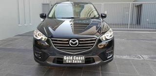 2017 Mazda CX-5 MY17.5 (KF Series 2) Maxx (4x2) Black 6 Speed Automatic Wagon.