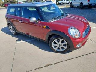 2007 Mini Clubman R55 Cooper Nightfire Red 6 Speed Sports Automatic Wagon.