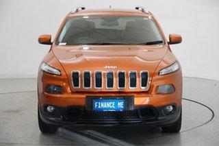 2014 Jeep Cherokee KL Longitude Mango Tango 9 Speed Sports Automatic Wagon.