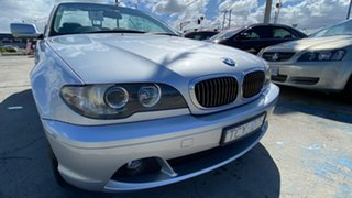 2004 BMW 3 Series E46 MY04.5 325Ci Steptronic Silver 5 Speed Sports Automatic Convertible