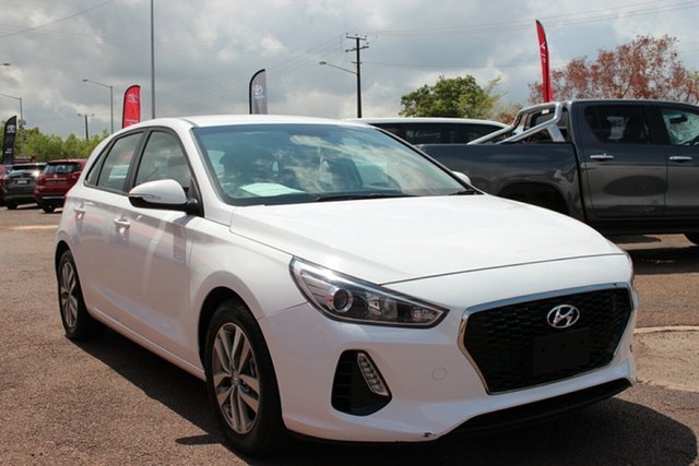 Pre-Owned Hyundai i30 PD2 MY19 Active Darwin, 2019 Hyundai i30 PD2 MY19 Active White 6 Speed Automatic Hatchback