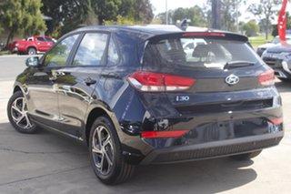 2021 Hyundai i30 PD.V4 MY22 Phantom Black 6 Speed Manual Hatchback.