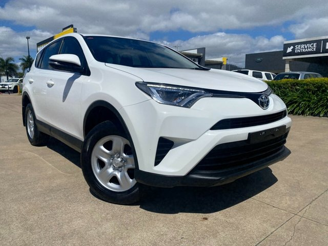 Used Toyota RAV4 ZSA42R GX 2WD Townsville, 2017 Toyota RAV4 ZSA42R GX 2WD White/230517 7 Speed Constant Variable Wagon