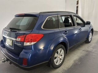 2010 Subaru Outback B5A MY10 2.5i Lineartronic AWD Blue 6 Speed Constant Variable Wagon