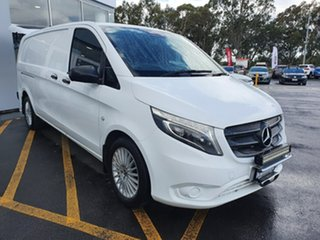 2018 Mercedes-Benz Vito 447 119BlueTEC LWB 7G-Tronic + White 7 Speed Sports Automatic Van.
