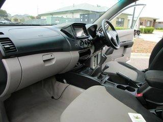 2010 Mitsubishi Triton MN MY10 GLX (4x4) White 5 Speed Manual 4x4 Double Cab Utility