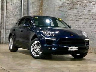 2015 Porsche Macan 95B MY16 S PDK AWD Black 7 Speed Sports Automatic Dual Clutch Wagon.