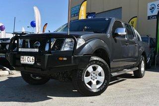 2009 Nissan Navara D40 ST-X (4x4) Grey 5 Speed Automatic Dual Cab Pick-up.