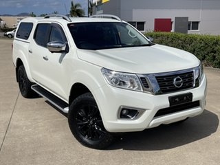 2018 Nissan Navara D23 S3 ST-X White/160718 7 Speed Sports Automatic Utility.