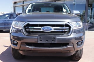 2019 Ford Ranger PX MkIII 2020.25MY XLT Grey 6 Speed Sports Automatic Double Cab Pick Up