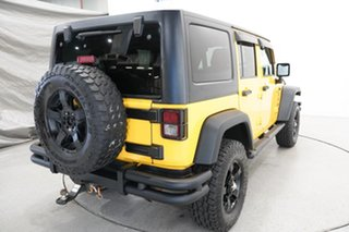 2016 Jeep Wrangler JK MY2016 Unlimited Sport Yellow 5 Speed Automatic Softtop
