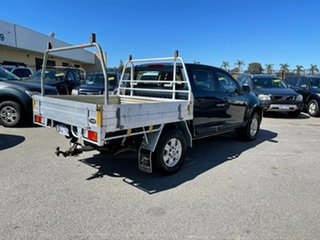 2012 Holden Colorado RG LX (4x4) Blue 5 Speed Manual Crew Cab Chassis