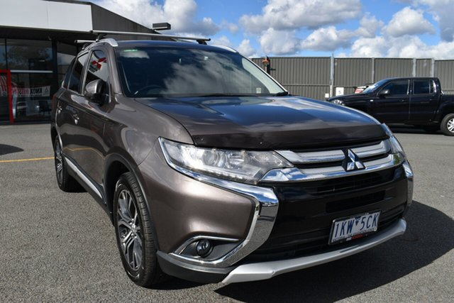 Used Mitsubishi Outlander ZK MY17 LS 4WD Wantirna South, 2017 Mitsubishi Outlander ZK MY17 LS 4WD Bronze 6 Speed Constant Variable Wagon