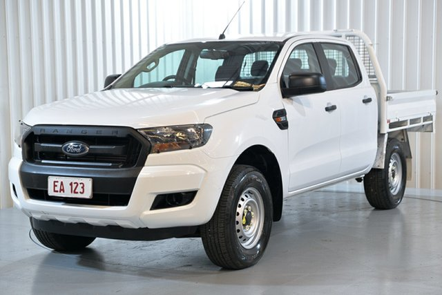 Used Ford Ranger PX MkII XL Hendra, 2017 Ford Ranger PX MkII XL White 6 Speed Sports Automatic Cab Chassis