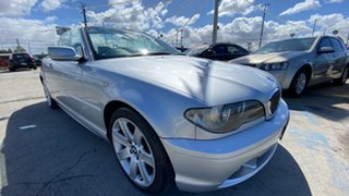 2004 BMW 3 Series E46 MY04.5 325Ci Steptronic Silver 5 Speed Sports Automatic Convertible.