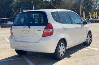 2004 Honda Jazz White 4 Speed Auto Active Select Hatchback