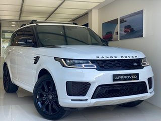 2018 Land Rover Range Rover Sport L494 19MY HSE Dynamic White 8 Speed Sports Automatic Wagon.